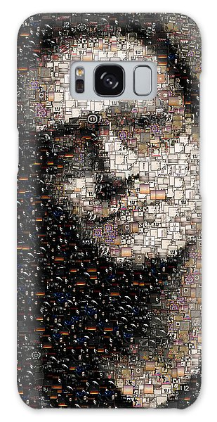 U2 Galaxy Case - Bono U2 Albums Mosaic by Paul Van Scott