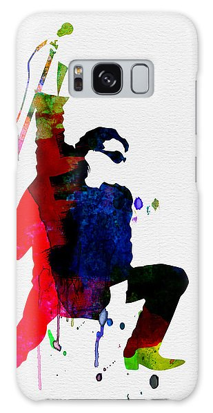 U2 Galaxy Case - Bono Watercolor by Naxart Studio