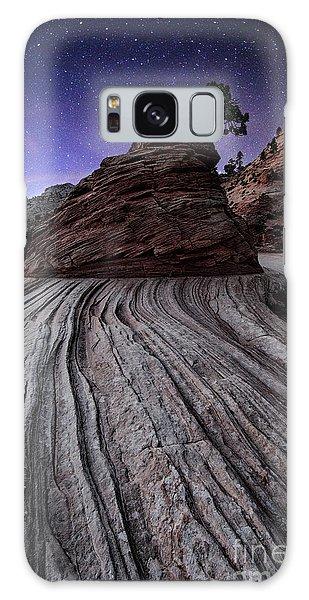 Bonzai In The Night Utah Adventure Landscape Photography By Kaylyn Franks Galaxy Case