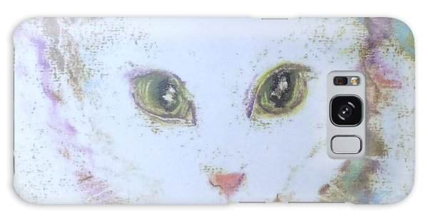 Book Misty My Cat Galaxy Case by Denise Fulmer