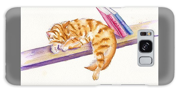 Cat Galaxy Case - Bookend by Debra Hall