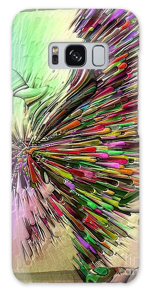 Boom Coiors By Nico Bielow Galaxy Case by Nico Bielow