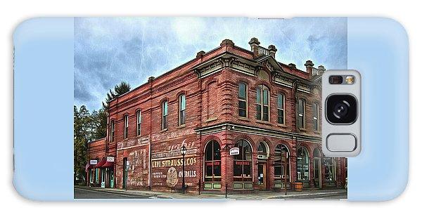 Boomtown Saloon Jacksonville Oregon Galaxy Case