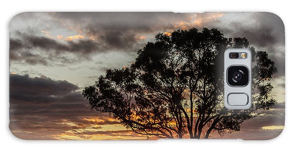 Boorowa Sunset Galaxy Case