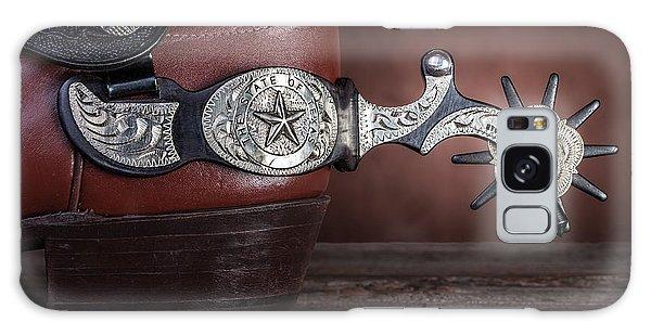 Texas Galaxy Case - Boot Heel With Texas Spur by Tom Mc Nemar