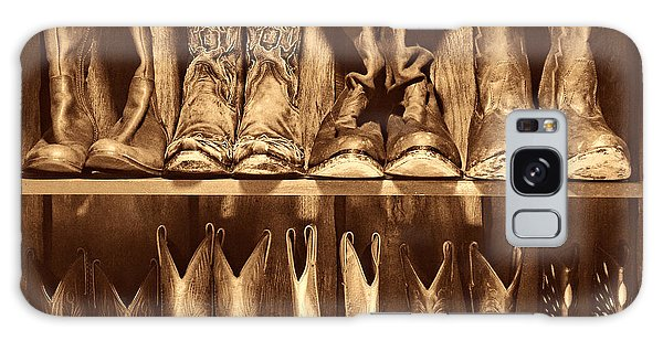 Boot Rack Galaxy Case by American West Legend By Olivier Le Queinec