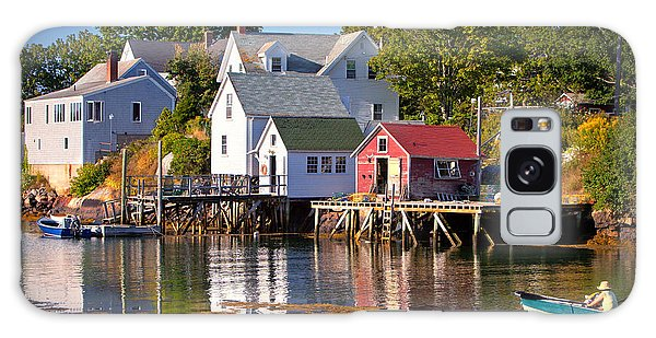 Otter Rock Galaxy Case - Boothbay  Maine by Emmanuel Panagiotakis