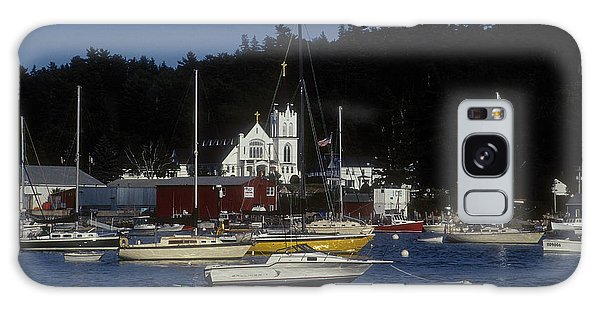 Boothbay Harbor Maine 2 Galaxy Case by Darleen Stry