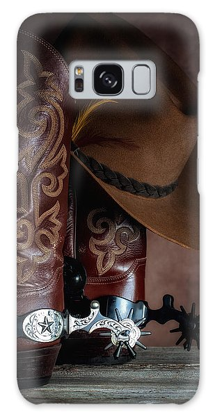Equine Galaxy Case - Boots And Spurs by Tom Mc Nemar