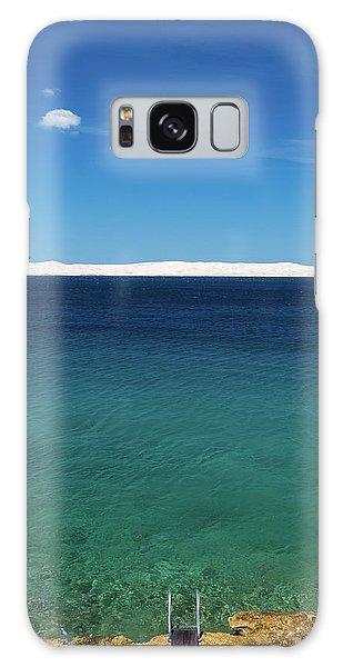 Galaxy Case featuring the photograph Bora In Velebit Kanal I by Davor Zerjav