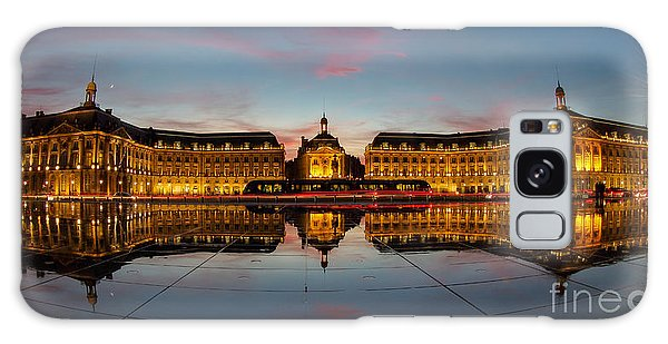 Bordeaux Reflections Galaxy Case