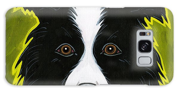 Border Collie Galaxy Case by Leanne Wilkes
