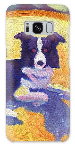 Border Collie Galaxy Case