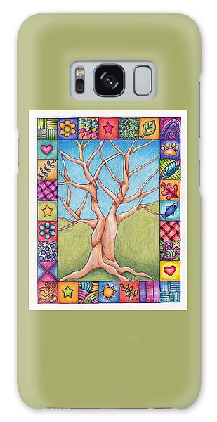 Border Of Life Galaxy Case by Terry Taylor