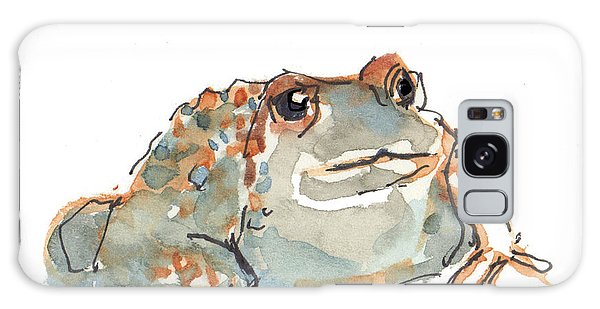 Boreal Chorus Frog Galaxy Case by Kathleen McElwaine