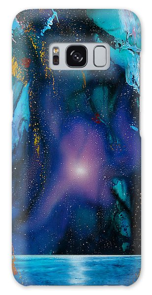 Borealis Galaxy Case by Angel Ortiz