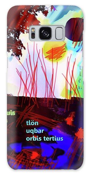 Borges Tlon Poster 2 Galaxy Case