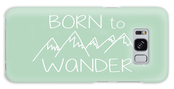 Born To Wander Galaxy Case