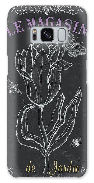 Tulips Galaxy Case - Botanique 4 by Debbie DeWitt