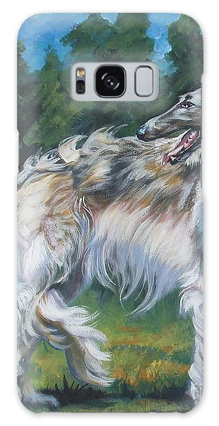 Sighthound Galaxy Case - Borzoi by Lee Ann Shepard
