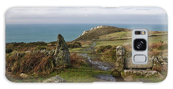 Bosigran In North Cornwall Galaxy Case