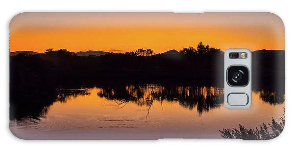 Bosque Del Apache Sunset Galaxy Case