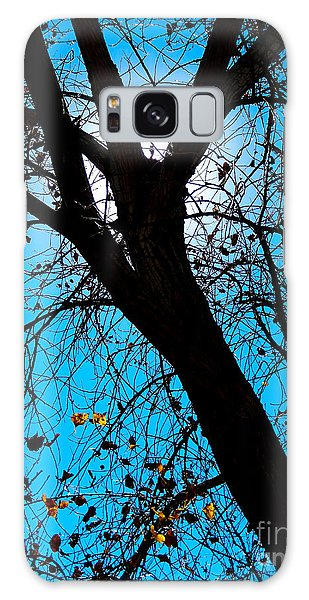 Bosque Silhouette Galaxy Case