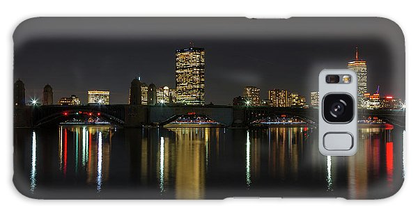 Boston Skyscrappers Behind Bridge Galaxy Case