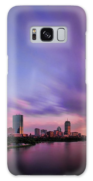 Boston Afterglow Galaxy Case by Rick Berk
