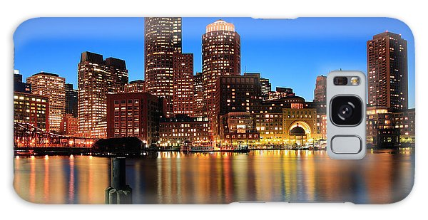 Boston Aglow Galaxy Case by Rick Berk