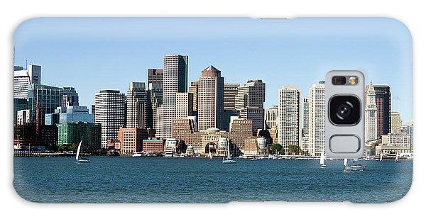 Boston City Skyline Galaxy Case