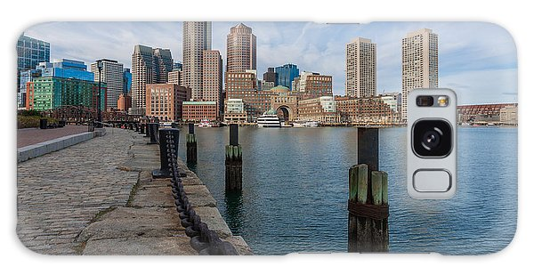 Boston Cityscape From The Seaport District 3 Galaxy Case