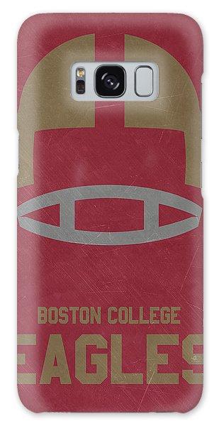 March Galaxy Case - Boston College Eagles Vintage Football Art by Joe Hamilton