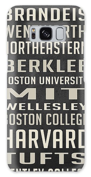 Art Institute Galaxy Case - Boston Colleges Poster by Edward Fielding