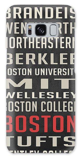 Art Institute Galaxy S8 Case - Boston Collegetown by Edward Fielding
