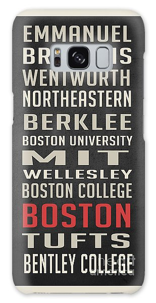 Boston Collegetown Galaxy Case by Edward Fielding