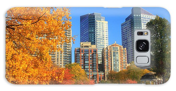 Boston Common In Autumn Galaxy Case by John Burk