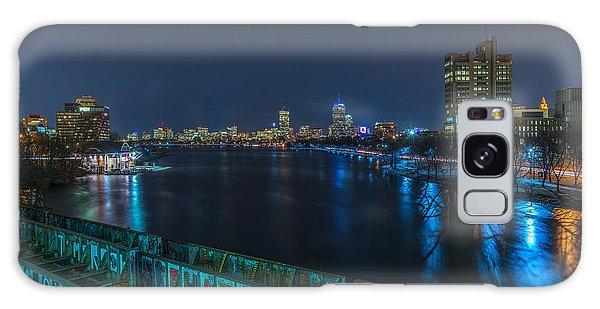 Boston From The Boston University Bridge Galaxy Case
