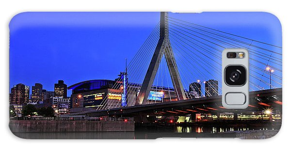 Boston Garden And Zakim Bridge Galaxy Case by Rick Berk