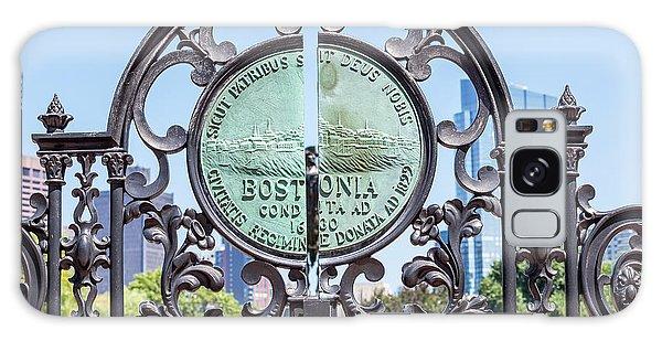 Boston Garden Gate Detail Galaxy Case