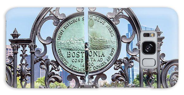 Boston Garden Gate Detail Galaxy Case