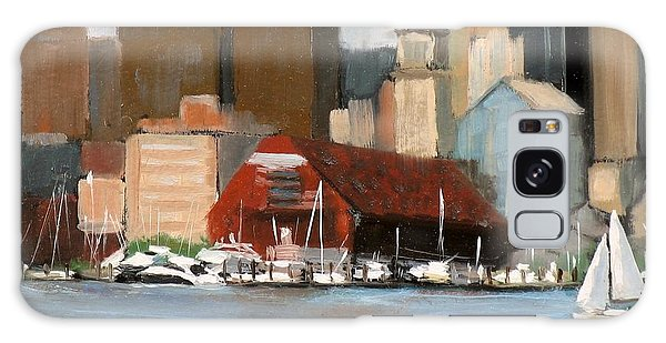 Motor City Galaxy Case - Boston Harbor by Laura Lee Zanghetti