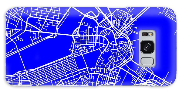 Boston Massachusetts City Map Streets Art Print   Galaxy Case by Keith Webber Jr