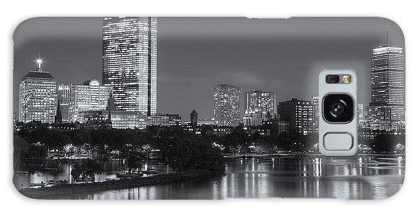 Boston Night Skyline V Galaxy Case