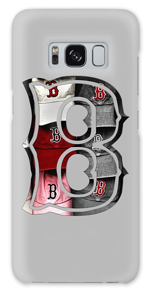 Boston Red Sox B Logo Galaxy Case