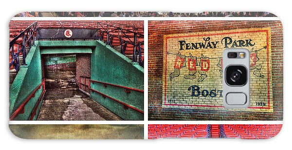 Boston Red Sox Collage - Fenway Park Galaxy Case