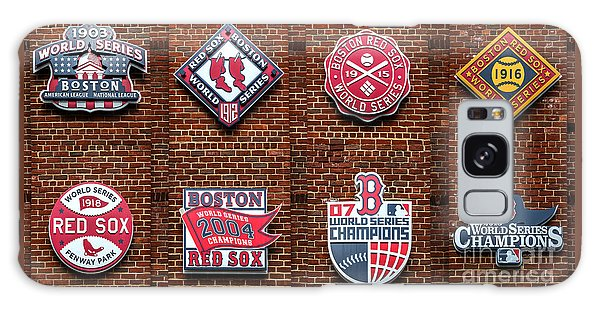 Boston Red Sox World Series Emblems Galaxy Case
