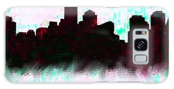 Ben Affleck Galaxy Case - Boston Skyline  1 by Enki Art
