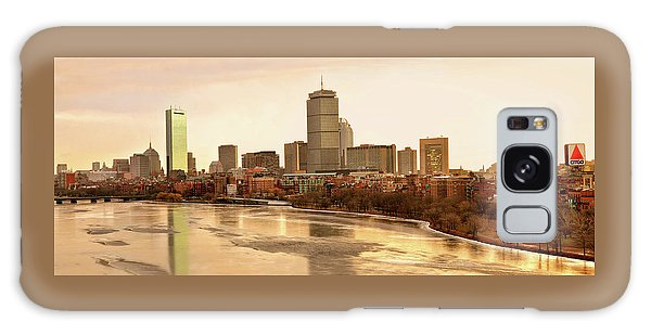 Boston Skyline On A December Morning Galaxy Case