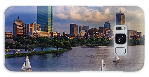 Evening Galaxy Case - Boston Skyline by Rick Berk